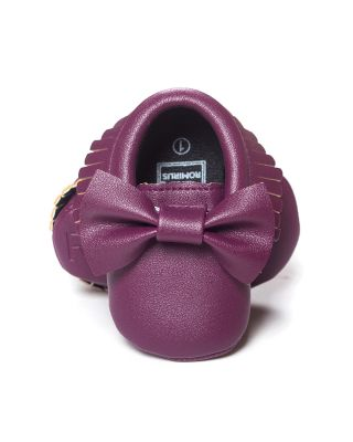 Baby Girl Princess Party Shoes in Purple