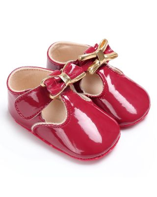 Baby Girl Pretty Bowknot Decor Birthday Party Shoes