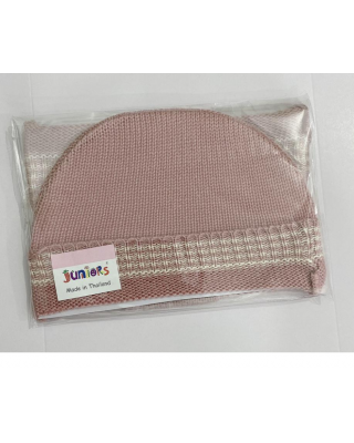 Newborn Baby Imported Knitted Winter Pink Hat