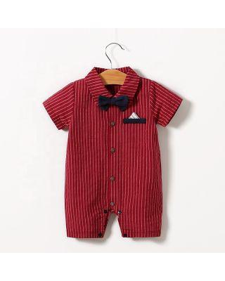 Baby Boys Bow Gentleman  Bodysuit
