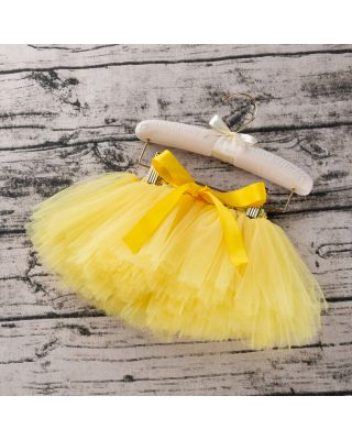 Baby Girl's Solid Tulle Skirt for 1 to 2 Year