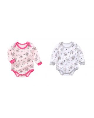Pack of 2 Bodysuits 100% cotton