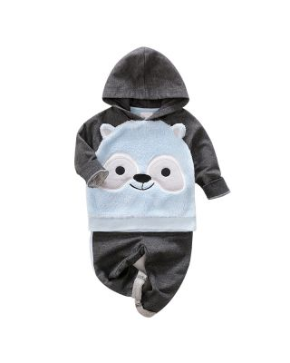 2-piece Baby Toddler Boy/Girl Hoodie and  Trouser Set