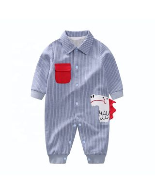 Baby Boy/Girl Trendy Dino Print Spring/Autumn Jumpsuit
