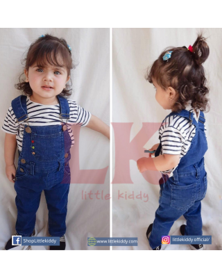 Boy/Girl Stylish Casual Denim Dungaree Overalls (1Year - 9Year)
