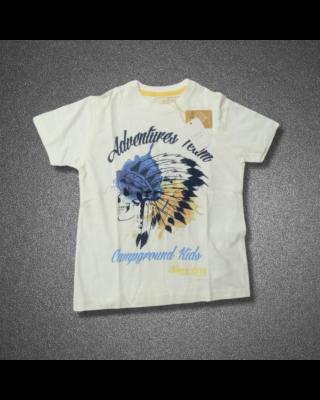 Skull Design Casual T-shirt for Boys