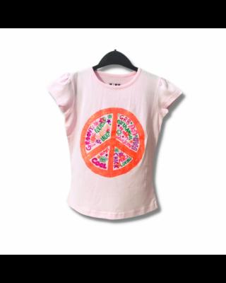 Kids Casual Wear Cotton T-shirt (PINK)