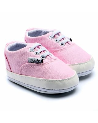 Baby Girl Canvas Comfortable Fit Shoes in Pink ( 0 - 18 Month )