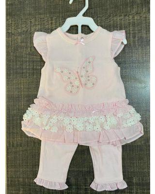 2-Piece Baby Girl elegant Sweet Cotton Princess dress Baby Girl Clothes