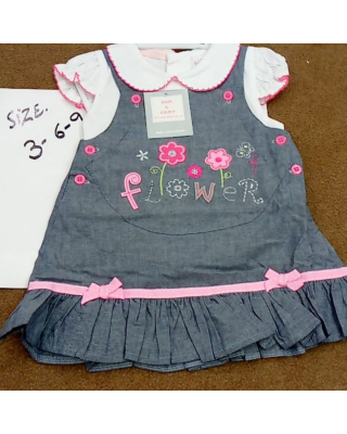 Baby Girl Summer WholeSale Summer Imported Frock (Set of 6 pieces)