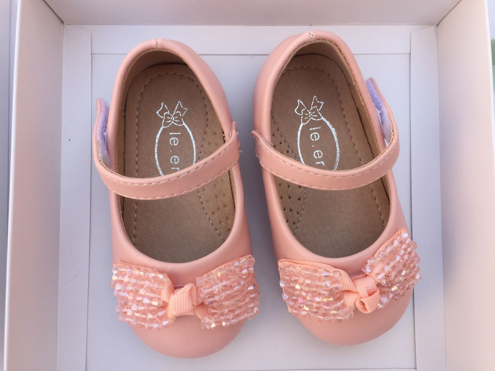 BABY GIRL SHOES IN PINK (1 YEAR TO 3.5